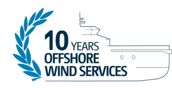 10 years offshore wind services