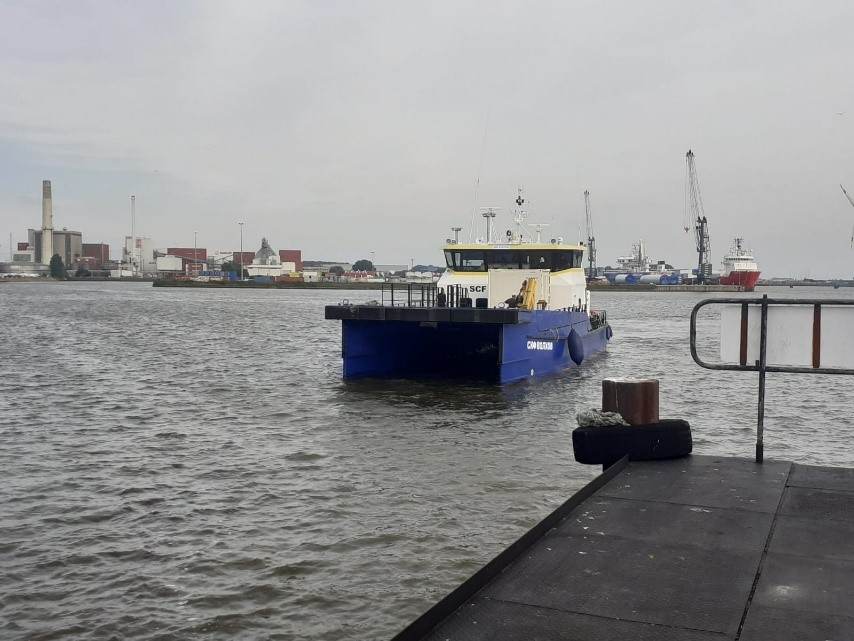 Crew Transfer Vessel WINDEA one in Emden